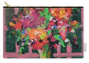Original Bouquetaday Floral Painting By Elaine Elliott 59.00 Incl Shipping 12x12 On Canvas Carry-all Pouch