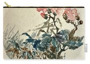 Original Chinese Flower Carry-all Pouch