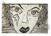 Original Devil Block Print Carry-all Pouch