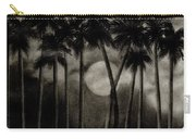 Original Moonlit Palm Trees  Carry-all Pouch