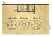 Original Patent For Canning Jars Carry-all Pouch