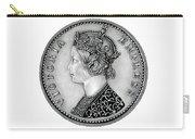 Original Silver Victoria Empress Carry-all Pouch