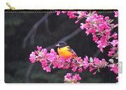 Oriole On Crabapple Carry-all Pouch