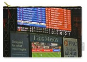 Orioles Game At Camden Yards Carry-all Pouch