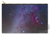 Orion And Canis Major Showing Dog Stars Carry-all Pouch