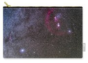 Orion And Canis Major With The Dog Star Carry-all Pouch