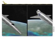 Orion IIi - Gently Cross Your Eyes And Focus On The Middle Image Carry-all Pouch