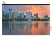 Orlando Cityscape Sunset Carry-all Pouch