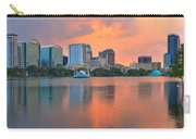 Orlando Skyscrapers And Palm Trees Carry-all Pouch