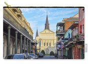 Orleans Street And St Louis Cathedral Carry-all Pouch
