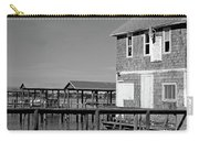 Ormond Yacht Club Black And White Carry-all Pouch