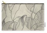 Ornament With Lilies, Herman Antonius Van Daalhoff, 1953 - 1977 Carry-all Pouch