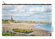 Ornamental Boat Against Tynemouth Coastline Carry-all Pouch