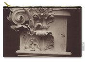 Ornamental Sculpture From The Paris Opera House (column Detail) Carry-all Pouch