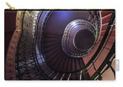 Ornamented Metal Spiral Staircase Carry-all Pouch