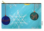 Ornaments And Snowflakes Carry-all Pouch