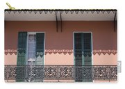 Ornate Balcony In New Orleans Carry-all Pouch