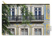 Ornate Building Facade In Lisbon Portugal Carry-all Pouch