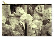 Ornate Building Frieze Carry-all Pouch