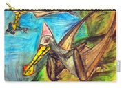 Ornithocheirus By The Sea Carry-all Pouch