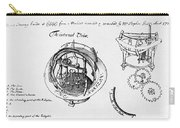 Orrery By Stephen Hales, 1705 Carry-all Pouch