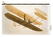Orville Wright In Wright Flyer 1908 Carry-all Pouch