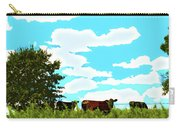 Osage County Cows Carry-all Pouch