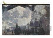 Oscar Monet   The Gare St Lazare Carry-all Pouch