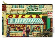 Oscar 's Candy Store Montreal Carry-all Pouch