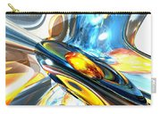 Oscillating Color Abstract Carry-all Pouch