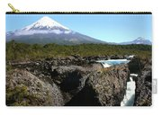 Osorno Volcano From Petrohue Falls Carry-all Pouch