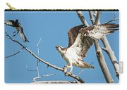 Osprey And Black Billed Magpie Carry-all Pouch