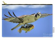 Osprey And Catfish Carry-all Pouch