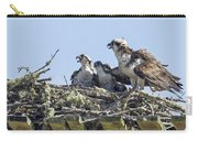 Osprey Family Portrait No. 2 Carry-all Pouch