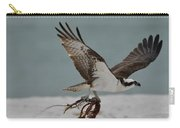 Osprey Flying With Seaweed Carry-all Pouch