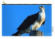 Osprey On A Pole Carry-all Pouch