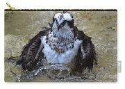 Osprey Splashing In Water Carry-all Pouch