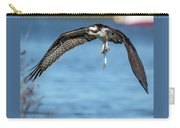 Osprey With Pin Fish Carry-all Pouch