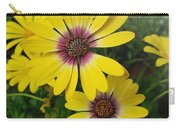Osteospermum-blue Eyed Beauty  Carry-all Pouch
