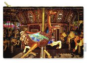 Ostrich Carousel Ride Carry-all Pouch