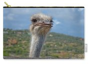 Ostrich Head Carry-all Pouch