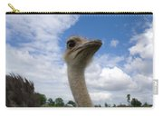 Ostrich High In The Sky Carry-all Pouch