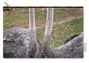 Ostrich Twins 2 Carry-all Pouch