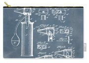 Otoscope Patent 1927 Blue Grunge Carry-all Pouch