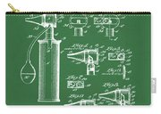 Otoscope Patent 1927 Green Carry-all Pouch