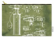 Otoscope Patent 1927 Grunge Carry-all Pouch