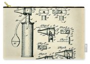 Otoscope Patent 1927 Old Style Carry-all Pouch