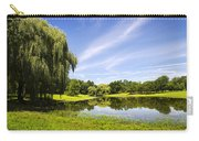 Otsiningo Park Reflection Landscape Carry-all Pouch