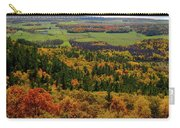 Ottawa River Valley In Fall At Tawadina Lookout At End Of Blanch Carry-all Pouch