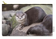 Otters In Arms Carry-all Pouch